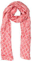 Versace Multicolor Patterned Scarf