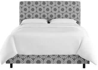 Wrought Studio Edford Medallion Upholstered Standard Bed Size: Full