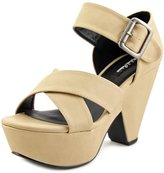 Michael Antonio Geonson Women US 10 Nude Platform Sandal