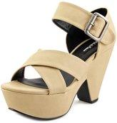Michael Antonio Geonson Women US 8.5 Nude Platform Sandal