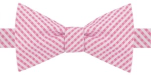 Tommy Hilfiger Men's Rockaway Gingham Bow Tie