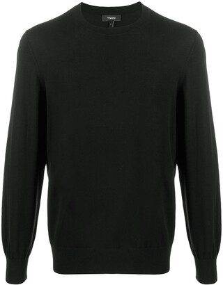 Theory long sleeve knitted jumper