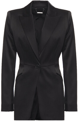 Elie Tahari Madison Satin Blazer