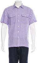 Michael Kors Plaid Short Sleeve Shirt