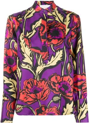 La DoubleJ Big Blooms shirt