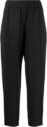 Issey Miyake contrast stripe trousers