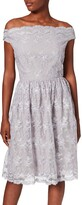 Thumbnail for your product : Little Mistress Women's Ditsy Floral Embroidered Mesh Dress Party