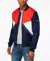 Tommy Hilfiger Men's Colorblocked Logo Bomber Jacket