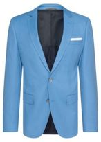 HUGO BOSS Hutsons Slim Fit, Cotton Sport Coat 40R Blue