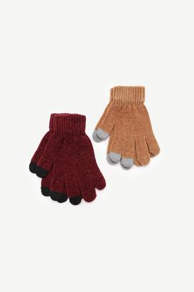 Ardene Chenille Touchscreen Gloves
