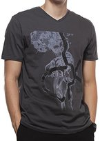 Calvin Klein Jeans Men's Smoking CK Logo V-Neck T-Shirt