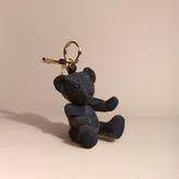 Burberry Thomas Bear Charm in Check Cashmere