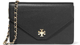 Tory Burch Kira textured-leather shoulder bag