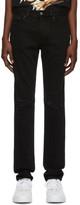 Givenchy Black Destroyed Slim-Fit Jeans