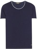 Loro Piana Bayron cashmere, silk and cotton blend top