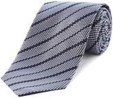 HUGO Silk Threaded Stripe Tie
