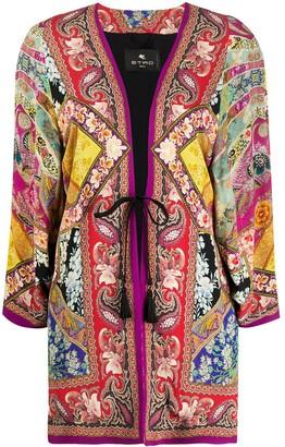 Etro Floral-Print Jacket