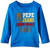 Pepe Jeans Boy's Tiberio Kids Long Sleeve T-Shirt