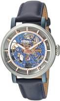 Fossil Women's ME3136 Original Boyfriend Automatic Leather Watch