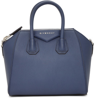 Givenchy Navy Mini Antigona Bag