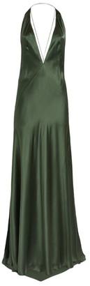 Michael Lo Sordo Alexandra Silk Strappy Gown