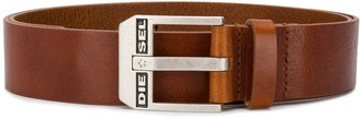 Diesel Engraved Buckle Belt