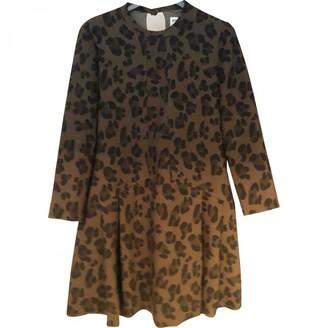 Essentiel Antwerp Khaki Cotton Dress for Women