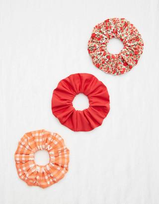 aerie Swim Scrunchie 3-Pack