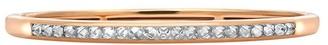 Pragnell 18kt rose gold RockChic diamond-embellished bangle