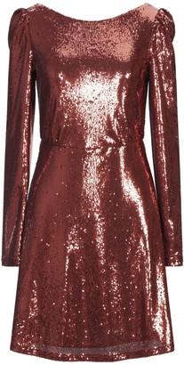 Black Coral Short dresses