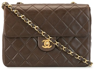 Chanel Pre Owned 1990 quilted CC shoulder bag