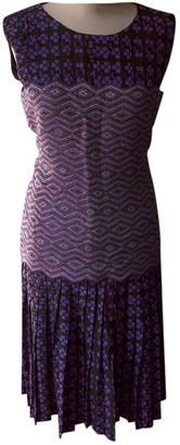 Chanel Purple Synthetic Dresses