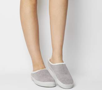 Toms Ivy Slippers Cement Grey Corduroy