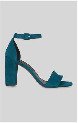 Whistles Alba Suede Block Heel Sandal