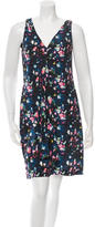 Richard Chai Sleeveless Floral Dress