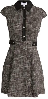 Claudie Pierlot Tweed Shirt Dress