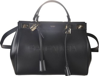 Giambattista Valli Twist-lock Detachable Strap Tote