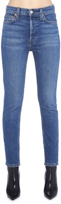 RE/DONE Ankle Crop Skinny Jeans