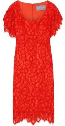 Lela Rose Corded Lace Dress