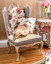 Mackenzie Childs MacKenzie-Childs Chelsea Garden Wing Chair