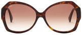 Tod's Women's Butterfly Plastic Frame Sunglasses
