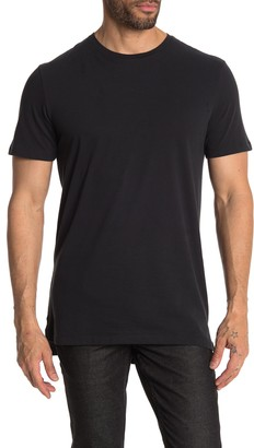 Public Opinion Solid Long T-Shirt