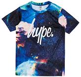 Hype Boys' Jupiter Space T-Shirt, Blue