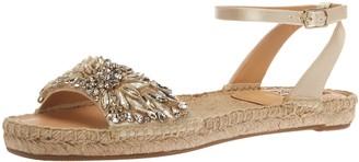 Badgley Mischka Women's Satine Flat Sandal