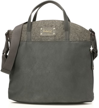 Babymel Grace Vegan Leather Diaper Bag - Black