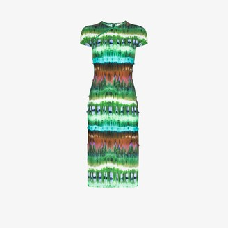 MARCIA tie-dye TchikiBoum midi dress