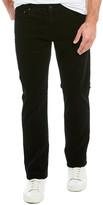 AG Jeans The Graduate Black Corduroy Tailored Leg