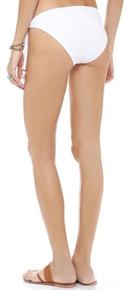Shoshanna Emery Mills Eyelet Bikini Bottoms