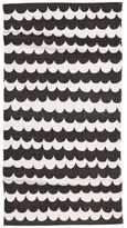 H&M Patterned Cotton Rug - Charcoal gray