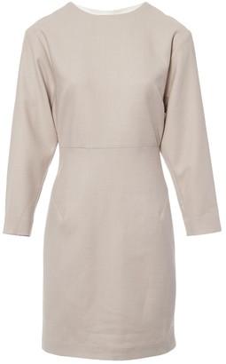 Freda Pink Wool Dress for Women